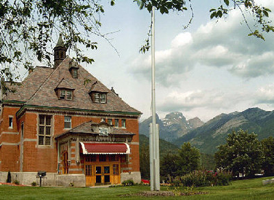 Fernie Court House And Mountains