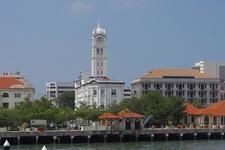 Ferry Wharf In Georgetown Penang