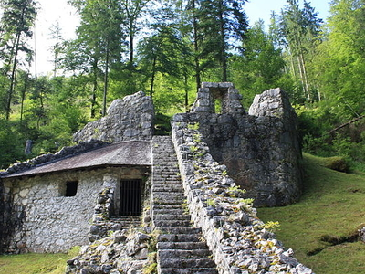 Festung Paß Strub, Tyrol, Austria