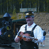 Fiddle-playing Conductor And Commentator Earl Hughes At El Dorado Gold Mine