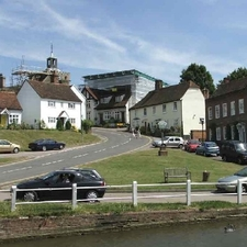 The Village Of Finchingfield In North Essex