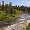 Firehole River Flow Through Yellowstone