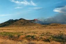 Fire In Cedar Mountains