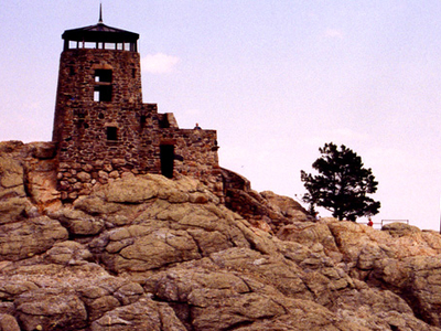 Fire Tower Atop Harney Peak