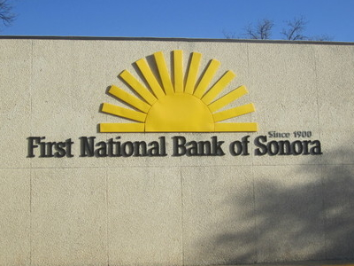 First  National  Bank Of  Sonora