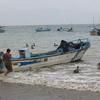 Fisherman Leaving Puerto Lopez