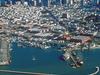 Fishermans Wharf Aerial View