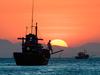 Fishing At Dawn Near Mũi Né