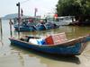 Fishing Boat At Teluk Kumbar