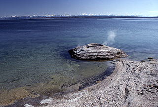 Fishing Cone Geyser - Yellowstone - Wyoming - USA