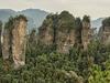 Five Fingers Peak Of Huangshizhai