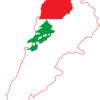 Flag Map Of Lebanon