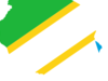Flag  Map Of  Tanzania