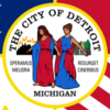 Flag Of Detroit 2 C Michigan