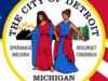 Flag Of  Detroit  2 C  Michigan