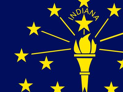 Flag Of  Indiana