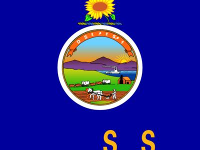 Flag Of  Kansas