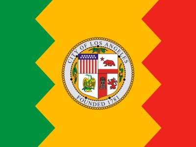 Flag Of Los Angeles