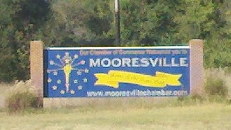 Flag Of Mooresville Indiana