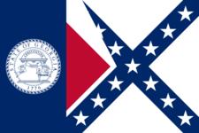 Flag Of The State Of Georgia 2 8 1 9 5 6 2 0 0 1 2 9