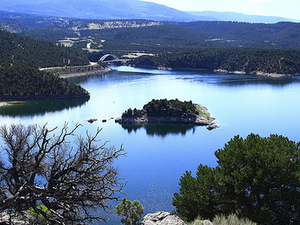 Embalse Flaming Gorge
