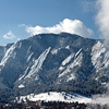 Flatirons In Winter - Boulder - CO