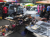 Flea Market At Lorong Kulit