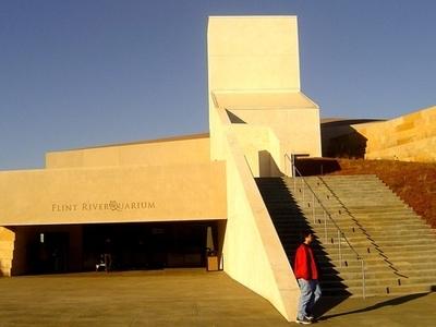 Entrance To The RiverQuarium