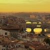 Florence Overview With Ponte Vecchio