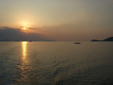 Flores Sea Sunset - Another View