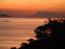 Flores Sea Sunset