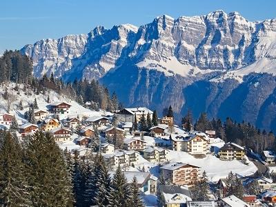 Flumserberg Skiing Resort - Switzerland