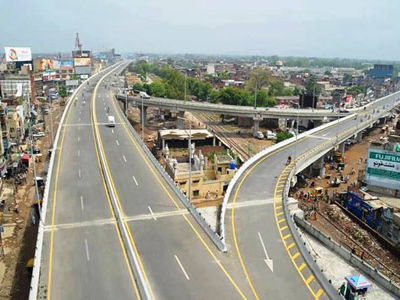 Flyover On The Main G.T Road