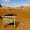 Follow Markers To Deadvlei - Namibia