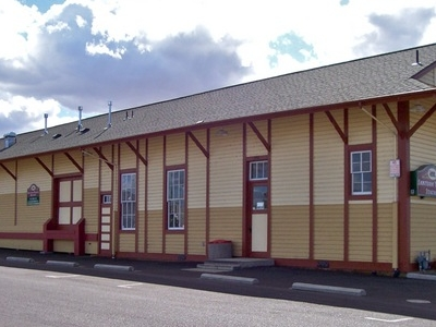 Former Railroad Station In Downtown