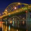 Fort Duquesne Bridge - Downtown Pittsburg PA