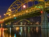 Fort Duquesne Bridge - Downtown Pittsburg PA