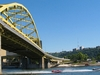 Fort Duquesne Bridge From Allegheny River - Pittsburgh PA