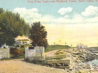 Fort Point Light From Ocean Street