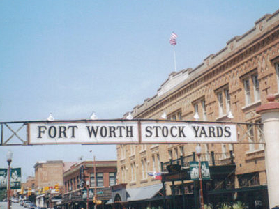 Fort  Worth  Stockyards  Entrance