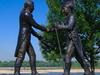 Fot O  Lewis Clark Statue