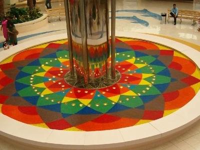 Fountain  Marina Mall