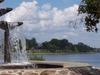 Fountain On Osisko Lake