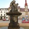 Fountain In Zabreh Statue