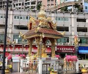 Four Faced Buddha Shrine