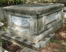 Francis Light Grave