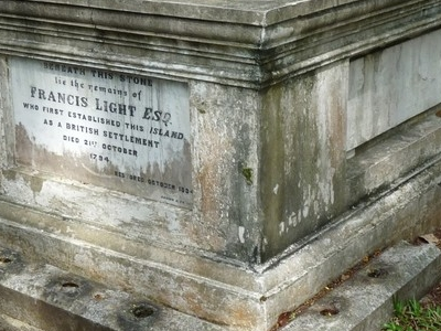 Francis  Light  Grave