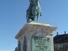 Statue Of Frederick V At Amalienborg Palace