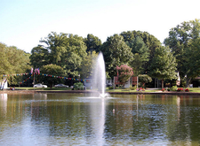 Freedom Park Fountain