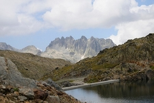 French Alps - Summer View